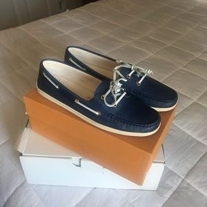 Tod's Marlin Mocassin in Saphire - 40.5